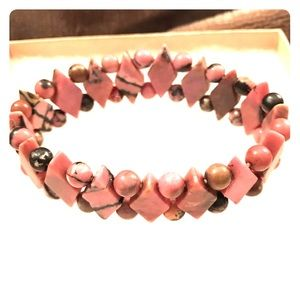 Jewelry - Pink Gemstone Bracelet